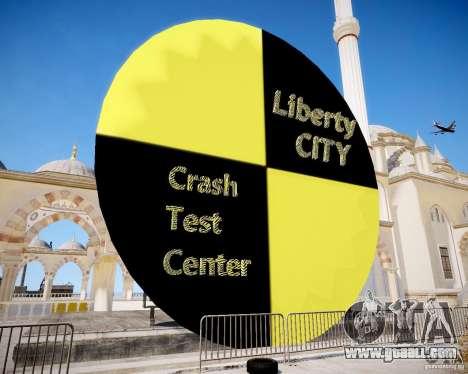 LC Crash Test Center for GTA 4 second screenshot