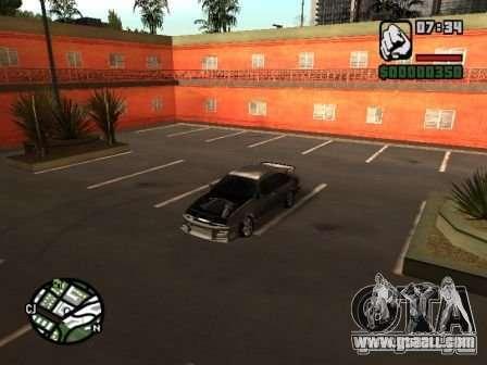 Ford Sierra Drift for GTA San Andreas back view