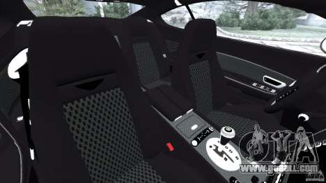 Bentley Continental GT Premier v1.0 for GTA 4 inner view
