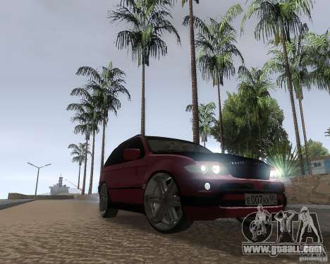 BMW X5 Sport Tun for GTA San Andreas