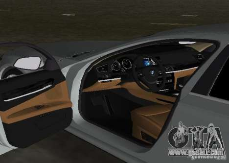 BMW 750 Li for GTA Vice City upper view