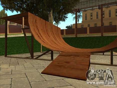 Map for Parkour and bmx for GTA San Andreas tenth screenshot