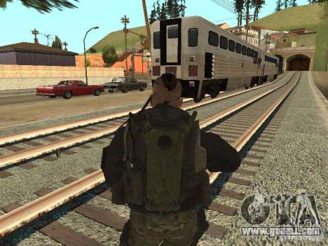 Captain MacTavish for GTA San Andreas third screenshot
