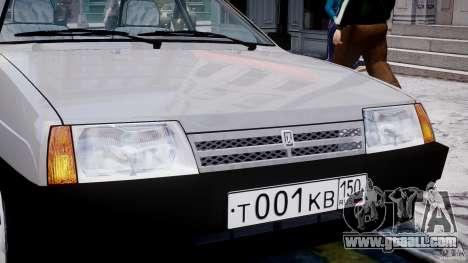Vaz-21093i for GTA 4 wheels