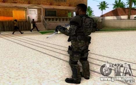 Salazar from CoD: BO2 for GTA San Andreas third screenshot