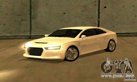 Audi Quattro Concept 2013 for GTA San Andreas