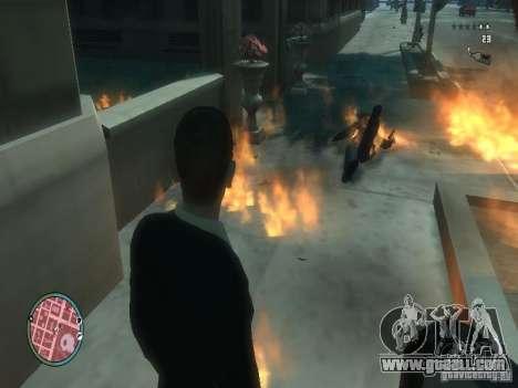 Intense Fire Mod for GTA 4 third screenshot