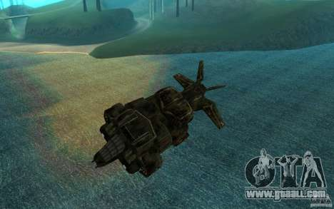 The shuttle from the game Aliens vs Predator 3 for GTA San Andreas