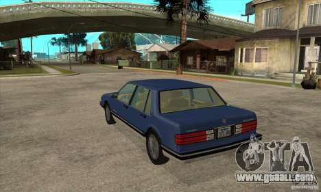 Pontiac Bonneville 1989 for GTA San Andreas back left view