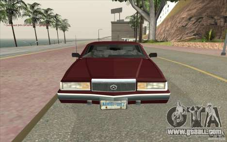 Chrysler Dynasty for GTA San Andreas right view