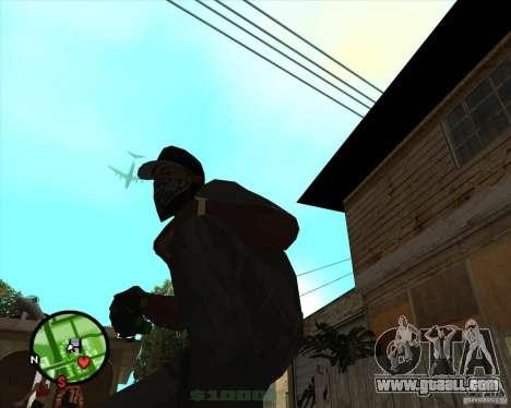 Night vision device Splinter Cell Goggles for GTA San Andreas