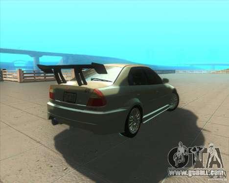 Mitsubishi Lancer Evolution VI 1999 Tunable for GTA San Andreas