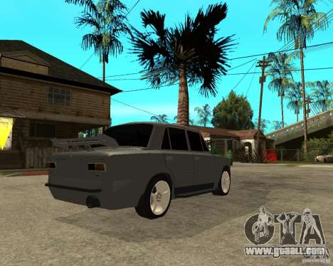 VAZ 2101 Hard tuning for GTA San Andreas back left view