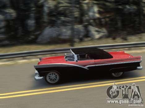 Ford Sunliner Custom 1956 for GTA 4 interior