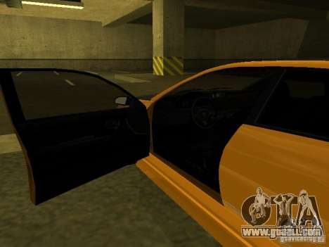 GTAIV Schafter Modded for GTA San Andreas side view