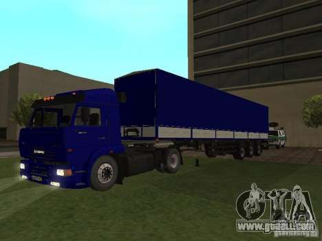 Trailer from the series truck drivers for GTA San Andreas