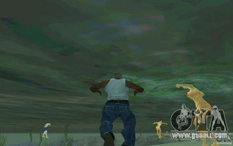People are able to swim for GTA San Andreas second screenshot