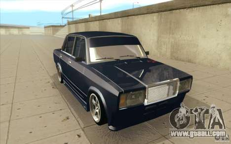 Vaz-2107 Lada Street Drift Tuned for GTA San Andreas back view
