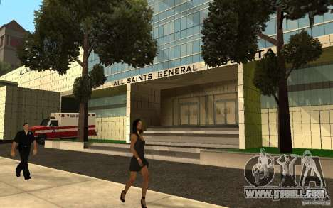 UGP Moscow New General Hospital for GTA San Andreas second screenshot