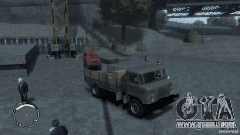 GAZ 66 for GTA 4 left view