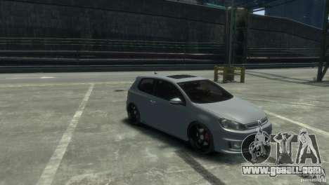 Volkswagen Golf GTI for GTA 4 back left view