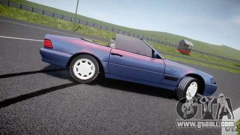 Mercedes-Benz SL500 for GTA 4 left view