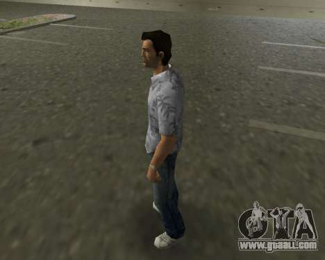 Grey shirt for GTA Vice City second screenshot