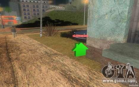 The House of green for GTA San Andreas third screenshot