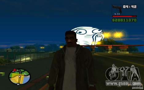 Lol Guy in the sky for GTA San Andreas third screenshot