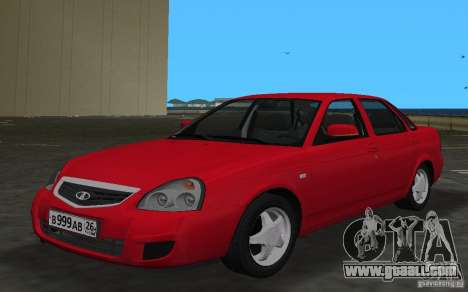 Lada 2170 Priora for GTA Vice City side view