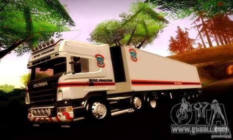 Scania R620 Emercom Of Russia for GTA San Andreas