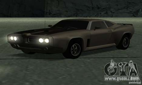 Hunter Cavalry of Burnout Paradise for GTA San Andreas back left view