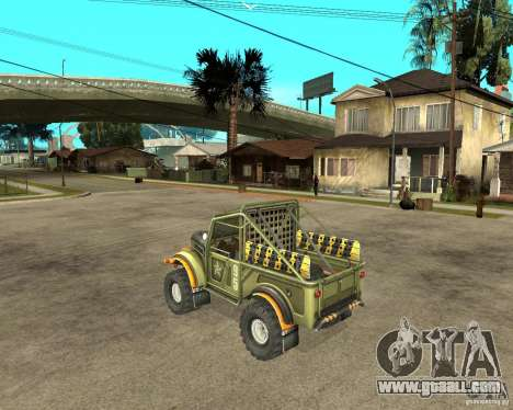 GAZ 69 Trial for GTA San Andreas left view