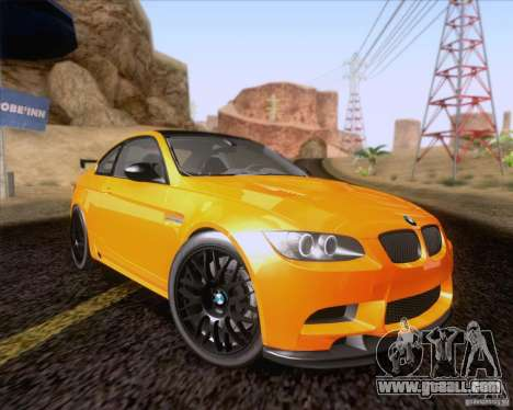 BMW M3 GT-S Fixed Edition for GTA San Andreas
