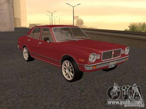Toyota Cressida for GTA San Andreas right view