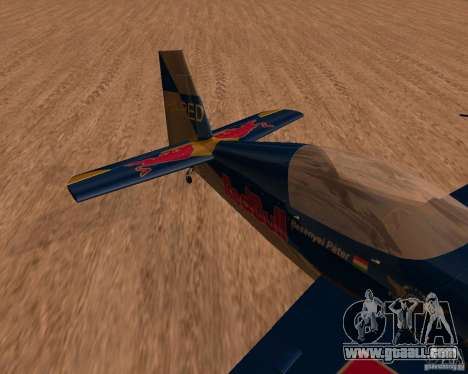 Extra 300L Red Bull for GTA San Andreas left view