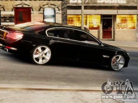 BMW 750 LI 2010 for GTA 4 right view