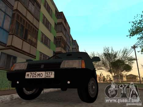 VAZ 21099 CR v. 2 for GTA San Andreas right view