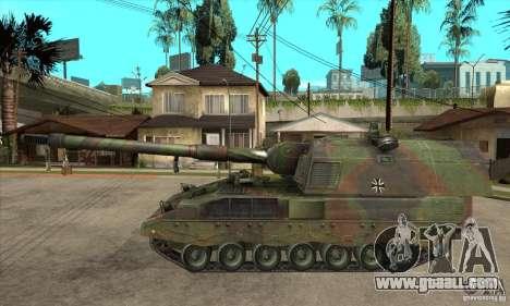 Panzerhaubitze 2000 for GTA San Andreas left view