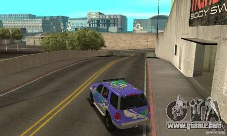 Ford Explorer 2002 for GTA San Andreas interior