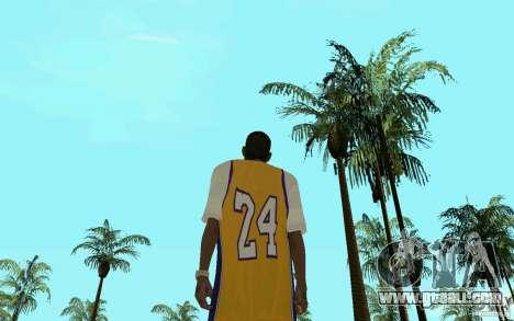 Afro-American HD skin for GTA San Andreas forth screenshot