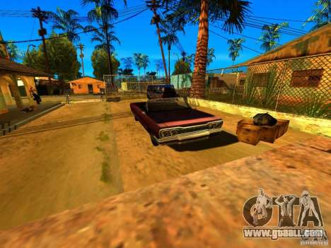 Mod Beber Cerveja V2 for GTA San Andreas sixth screenshot
