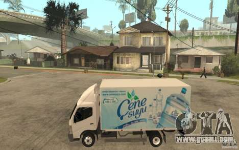 Mitsubishi FUSO Canter 2008 for GTA San Andreas left view