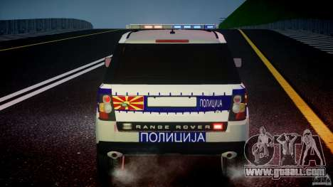 Range Rover Macedonian Police [ELS] for GTA 4 wheels