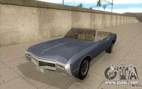 Buick Riviera GS 1969 for GTA San Andreas