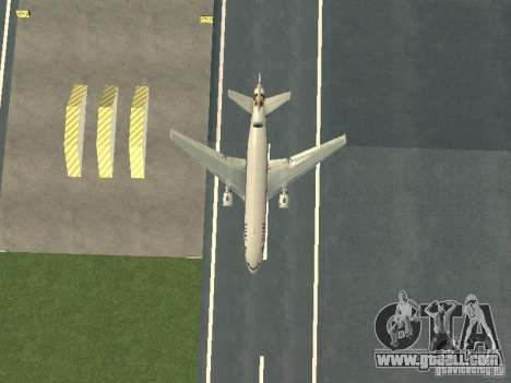McDonell Douglas  DC 10 Thai Airways for GTA San Andreas inner view