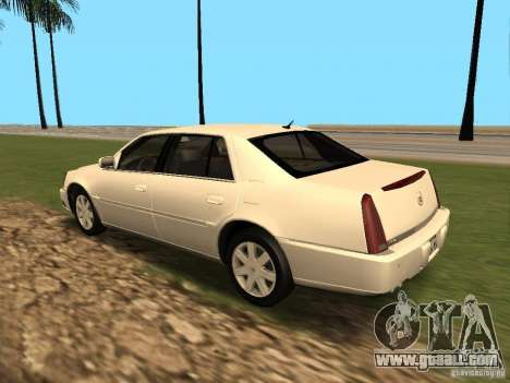 Cadillac DTS 2010 for GTA San Andreas right view