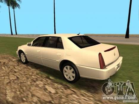 Cadillac DTS 2010 for GTA San Andreas right view