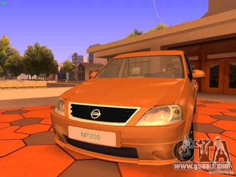 Nissan NP200 for GTA San Andreas left view