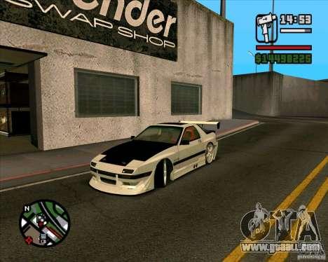 MAZDA FC3S DRIFT TUNE for GTA San Andreas